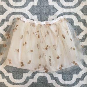 ✴️4/$15 Crewcuts tulle cherry skirt size 4/5